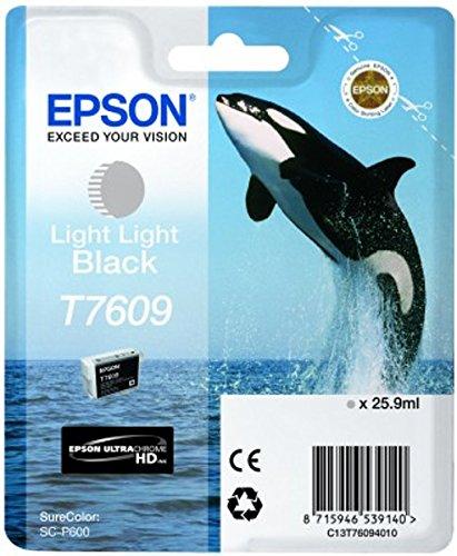 Preisvergleich Produktbild Epson T76094010 Tintenpatrone 26 ml, hell schwarz