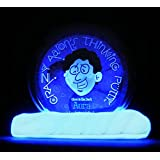 "AURA GLOW IN THE DARK Crazy Aaron's Thinking Putty Large 4"" Tin 3.2oz New In Tin For Ages 3+"