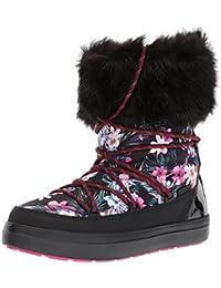 Crocs LodgePoint Graphic Lace Boot Women, Botas de Nieve Para Mujer