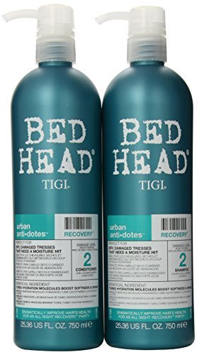 Bead Head by TIGI Recovery Duo Pack Shampoo & Conditioner 25.3oz by Tigi Bed Haed