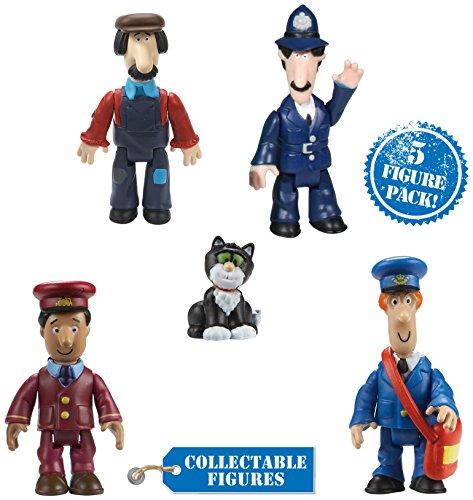 """Image of Postman Pat 06132 """"Postman Pat Five"""" Figure Pack"""