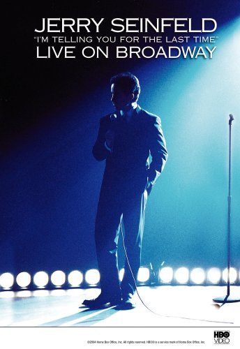 Click for larger image of Jerry Seinfeld Live on Broadway: I'm Telling You for the Last Time [DVD] [1998] [Region 1] [US Import] [NTSC]