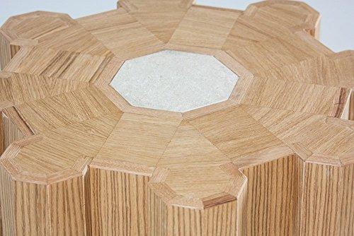 Compare Prices for Apulia Design – Castello, oak and tuff coffee table, 100% Italian Craftsmanship. Reviews
