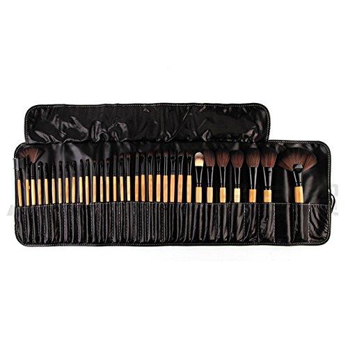 Cexin professionel 32 pinceaux maquillage exquis avec trousse pinceaux set