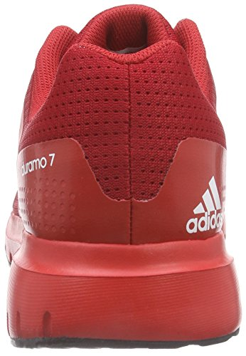 Adidas Herren Duramo 7 Laufschuhe Rot (rosso Vivo S13 / Ftwr Bianco / Rosso Potere)