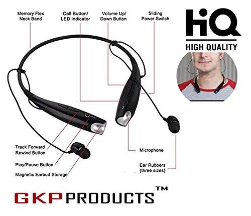 HBS-730 Bluetooth Wireless Stereo Headset - Black