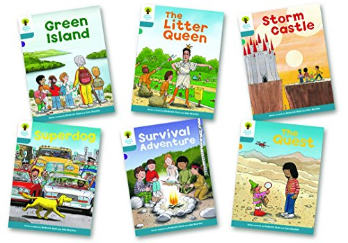 Oxford Reading Tree Biff, Chip and Kipper Level 9. Stories: Mixed Pack of 6 por Alex Brychta