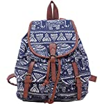Hosaire 1X Vintage Casual Sweet Womens And Girls Backpack School Bag Travel Bag Canvas