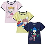 #9: Cherokee Girls' T-Shirt (Pack of 3)