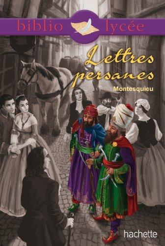 Bibliolyce - Lettres persanes de Montesquieu