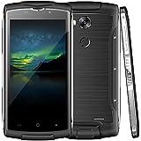 HILTON JI Z7IPS HD 1280 * 720 Pixels 3G / 4G WIFI + Bluetooth GPS IP68 5 '' Capactif Multi-touch screen Scanner à empreintes digitales Comprimés résistants