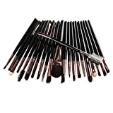 FORH-Beauty FORH 22Pcs / Set Make up Tools Damen Mode Bunte Stil Make-up Pinselset weich Wolle Make up Brush Professional Toilettenartikel Kit für Lippen Maskara Eyeliner Lidschatten (Schwarz)