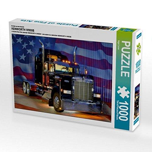 Preisvergleich Produktbild Ein Motiv aus dem Kalender KENWORTH W900B 1000 Teile Puzzle quer (CALVENDO Mobilitaet)