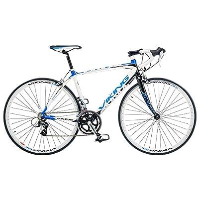 Viking Men's San Marino 700 C Road Racing Bike - White, 53 cm by Viking