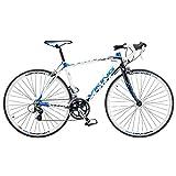 Viking Men's San Marino 700 C Road Racing Bike - White, 56 cm