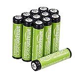 AmazonBasics AAA NiMH Precharged Rechargeable Batteries (12 Pack, 800 mAh)