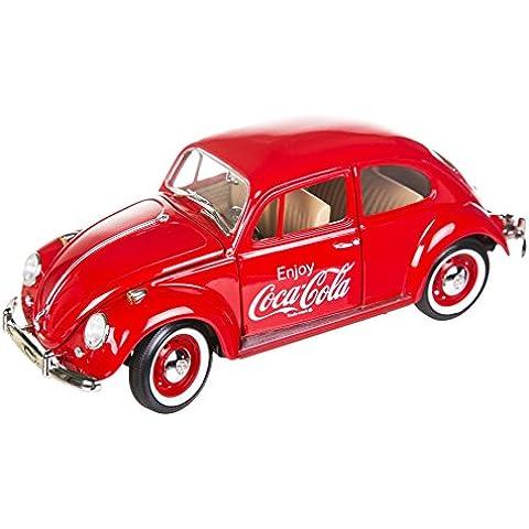 Coca Cola 1966 Volkswagen Beetle 01 18 scala modello Diecast