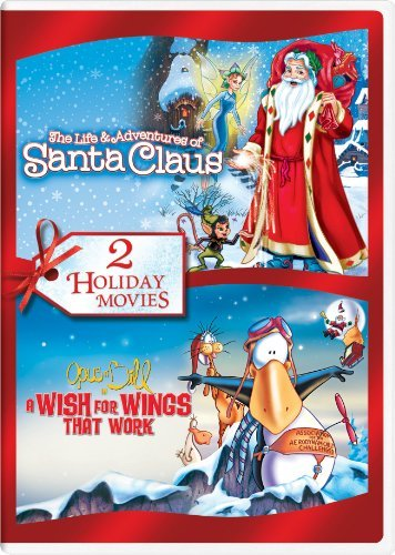 The Life & Adventures of Santa Claus / Opus n' Bill in a Wish for Wings That Work Holiday Double Feature by Dixie Carter Carters Santa