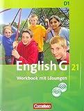 English G 21, D1, Workbook mit Lösungen uns 2 CDs