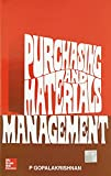 Purchasing and Materials Management