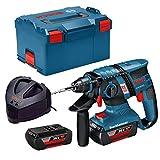 Bosch Professional + COM +GBH 36V-EC Compact 2 x 2,0Ah L-Box, 180 W, 36 V
