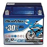 Motorradbatterie 12 V/12 Ah - 150 A/EN CTX12-BS GEL 51012 BlueMax YTX12-BS
