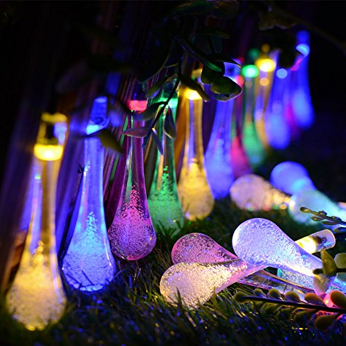 String Lights,Kondisco 30 LED Waterproof Xmas Decorative Lights,Solar Fairy String Lights for Outdoor,Garden,Patio,Christmas,Xmas Tree,Holiday Party Decorations Lawn,Trees,Wedding,Xmas Decoration (Multi-color).