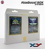 ESAM Box #tooboost JIRACHI und ARCEUS - Xy - 10 English Karten Pokemon