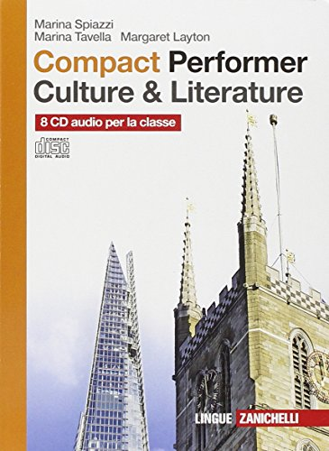 Compact performer. Culture & literature. 8 CD Audio