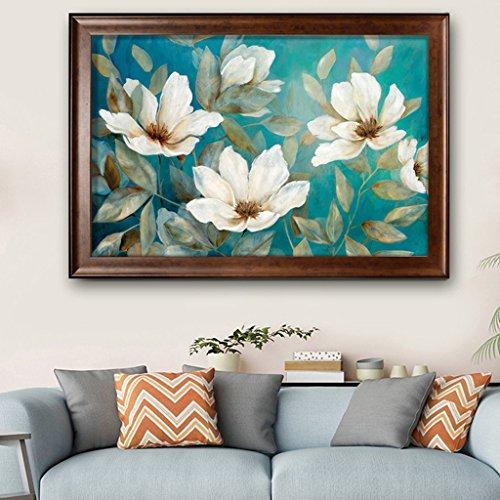 LFF.FF Moderne Minimalistische Dekorative Malerei American Style Wohnzimmer Sofa Schlafzimmer Malerei Pflanze Multicolor Inkjet Malerei,C,63 * 93CM - 93 Inkjet