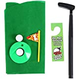 Toilet Golf Golf Potty Putter Putting Game For Bathroom - Golfing Indoor Practice Mini Golf Gag Gift Set Golf Game Sets Entertainment Toy Gift - Kids Men Funny Novelty Toy Training Accessory