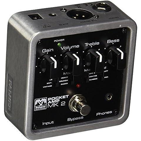 Palmer Audio Gitarreneffekt Preamp MI POCKET AMP MK 2