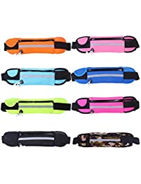 Camouflage : Livecity Unisex Waterproof Outdoors Running Sport Cellphone Reflective Waist Pack Bag