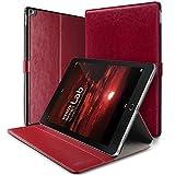 iPad Pro Case, VRS Design [Layered Dandy Series] Premium PU Leather Kickstand Cover with Auto Sleep/Awake for iPad Pro 12.9 2015 - Wine Red