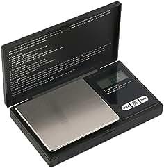 Hoosiwee Báscula Digitales de Precisión,100g 0.01g Balanzas de Portátiles, Báscula de Joyería