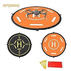Drones Landing Pad 80cm,STARTRC Universal Waterproof Portable Foldable Landing Pads for DJI Mavic Pro Platinum or Mavic Air/SPARK/Phantom 3 4 /3DR SOLO