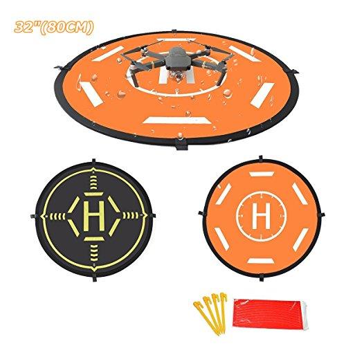 siyangmy Dobladillo plegable universal Función luminosa Drone Landing Pad 2 lados utilizados para DJI Mavic PRO/Mavic Air/SPARK/Mavic Pro Platinum/Phantom 3 Phantom 4 Inspire 1 Quadcopter