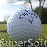 50 CALLAWAY SUPERSOFT LAKEBALLS / GOLFBÄLLE - QUALITÄT AAAA / AAA