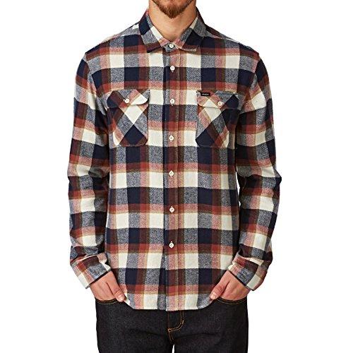rvca-shirts-rvca-telltale-long-sleeve-shirt-red-ochre