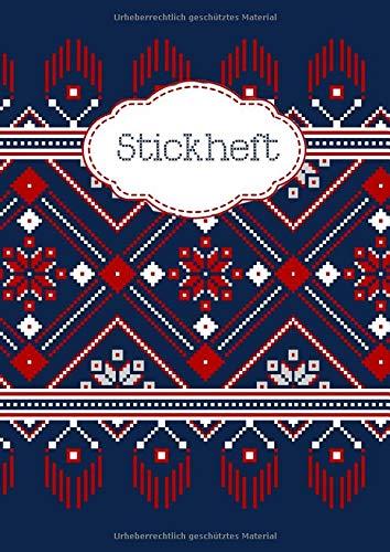 Stickheft: Stickbuch für Kreuzstich -