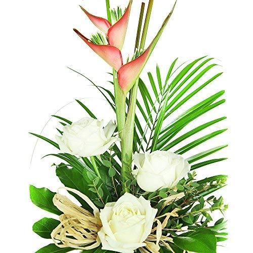 Exotische Blumen zum Geburtstag - Blumenstrauß Heliconia (Geburtstag, Strauß)
