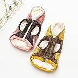 BKPH Haustierkleidung Winter Hunde Reine Wolle Zweibeinige Kleidung Haustierkleidung, Pink, M
