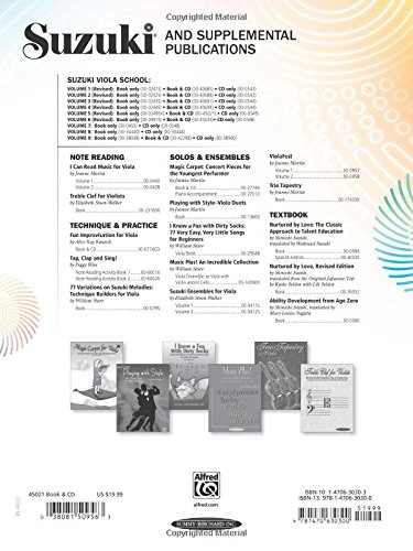 Suzuki Viola School, Vol 5: Viola Part, Book & CD