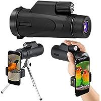 Monokular Teleskop,Aibesser Monokular Handy Monokular Nachtsicht 12x50 HD