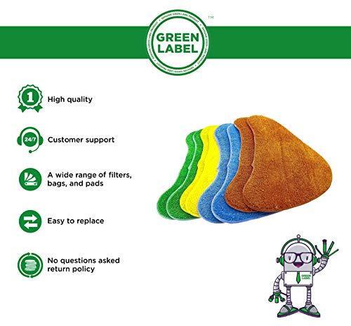 Zoom IMG-1 green label confezione da 8