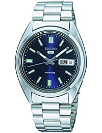 Seiko Men's Analogue Automatic Watch with Stainless Steel Bracelet – SNXS77K