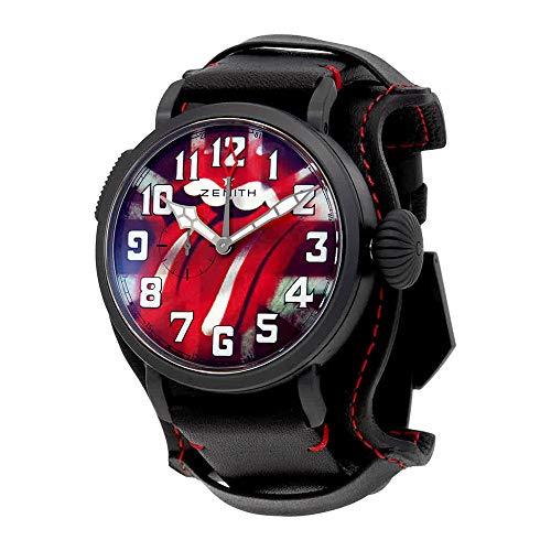 Zenith tipo 20GMT Automático homenaje a los Rolling Stones para hombre reloj 96.2439.693/77.c809
