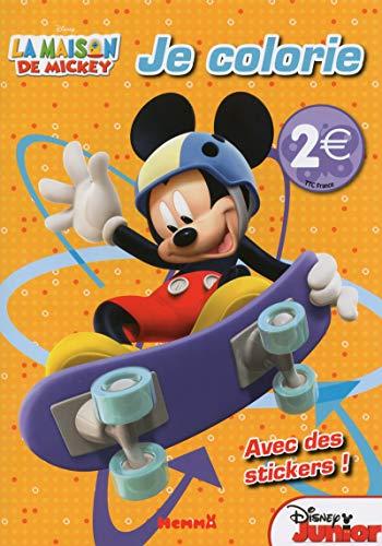 La maison de Mickey - Je colorie