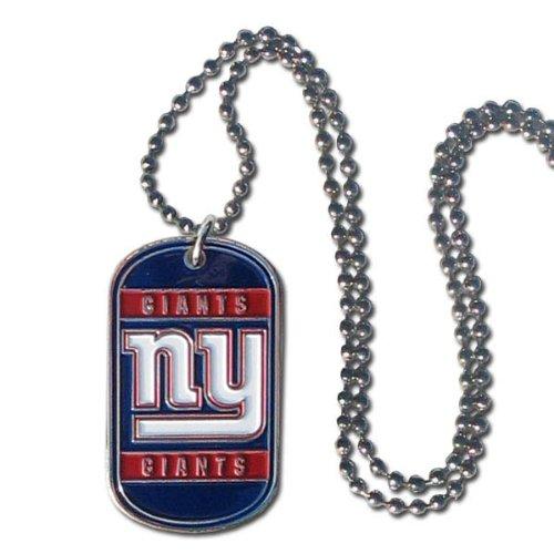 Siskiyou NFL Dog Tag Halskette, Herren Damen Mädchen Unisex Jungen, New York Giants, 36-Inch (New Giants-mädchen York)
