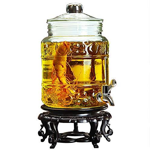 Lxyfms mason jar bicchiere di vino dispenser latte birra caffè bevanda famiglia bar dispensatore di acqua del partito 3.5l / 5l / 10l distributore di bevande